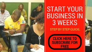 start your business in 3 weeks