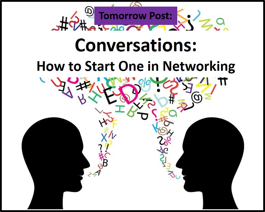 tomorrow on kingsleyaigbona.com: conversations - how to start on in networking