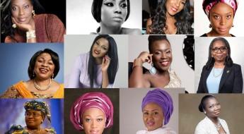 5 nigerian women - mo abudu, toke makinwa, linda ikeji, adichie, alakija, abike dabiri, mrs buhari, ibukun awosika, omotola, tara durotoye
