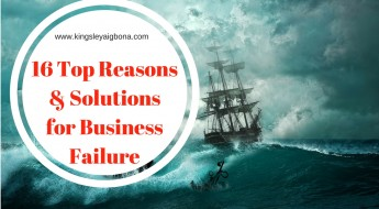 Business Failure - 16 Top Reasons & Solutions