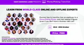 MoneyMaking Transition: 20+ World-Class Experts Reveal Secrets To Build A Profitable Business From Scratch
