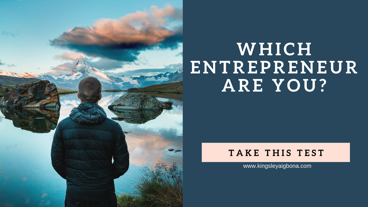 entrepreneur - what kind are you