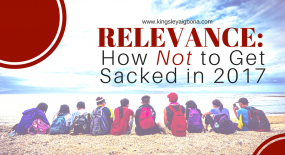 Workplace Relevance: How Not to Get Sacked in 2017