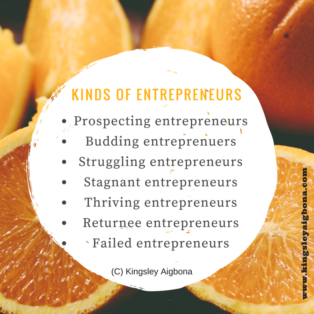 which entrepreneur are you?