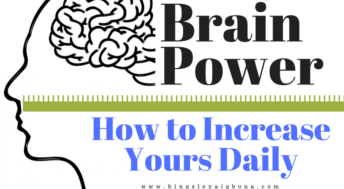daily brain power increase
