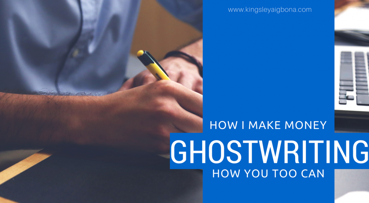 make money ghostwriting