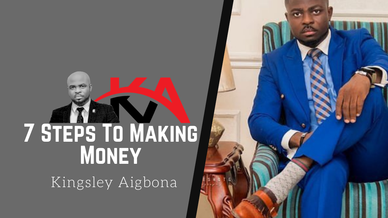 7 steps to making money online or anywhere